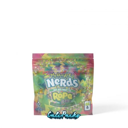 Medicated Nerds Mix Fruit Rope Bites Mylar Pouch
