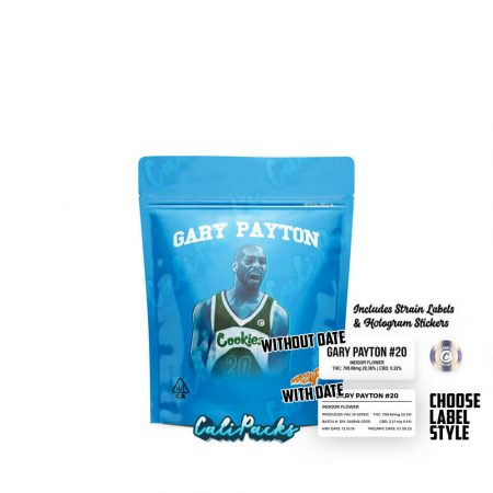 Cookies Gary Payton 3.5g Mylar Bag with Strain Labels