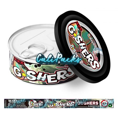 Gushers Self Seal Ring Pull Tin Labels - 3.5g