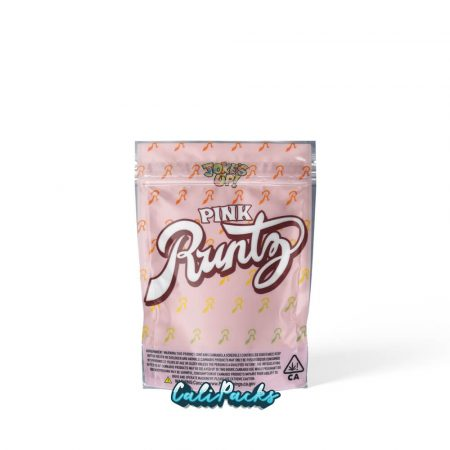 Jokes Up Pink Runtz 3.5g Fully Printed Mylar Bag