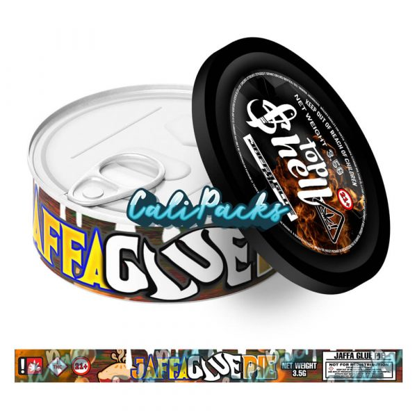 Jaffa Glue Pie Tin Labels 3.5g - Top Shelf