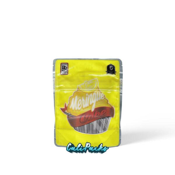 Backpack Boyz Lemon Meringue Cake 3.5g Child Resistant Mylar Bags