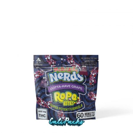 Medicated Nerds Seriously Gotta-Have Grape Bites Mylar Pouch