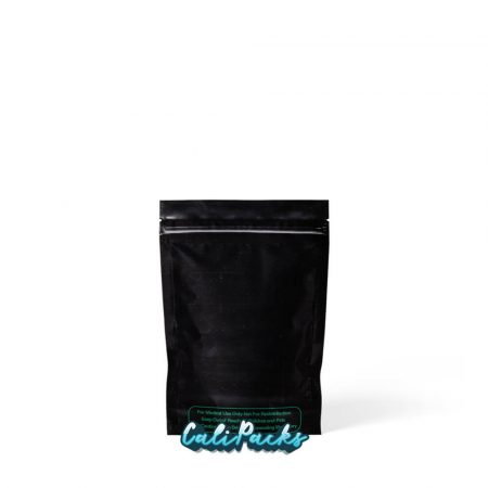 3.5g Bl3.5g Blank Mylar Bags Black with Clear Front - Pack of 50ank Mylar Bags White with Clear Front - Pack of 50