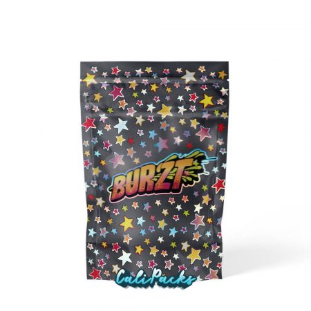 Burzt Limited Edition Child Resistant 3.5g Mylar Bags