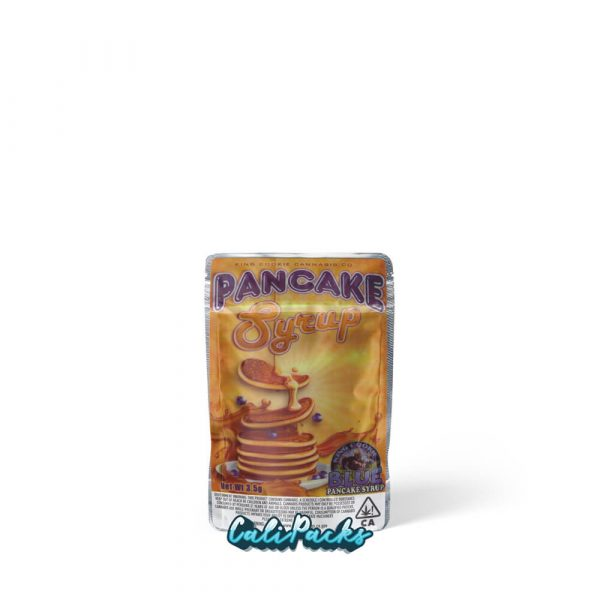 King Cookie Pancake Syrup 3.5g Mylar Bag (stickers pre-applied)