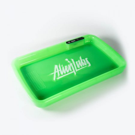 Alien Labs Green LED Glow Tray with Grinder
