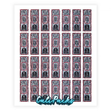 Official Tamper Evident Backpack Boyz Hologram Sticker (Sheet of 28)