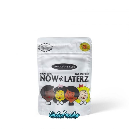 Backpack Boyz Now n' Laterz 3.5g Child Resistant Mylar Bags