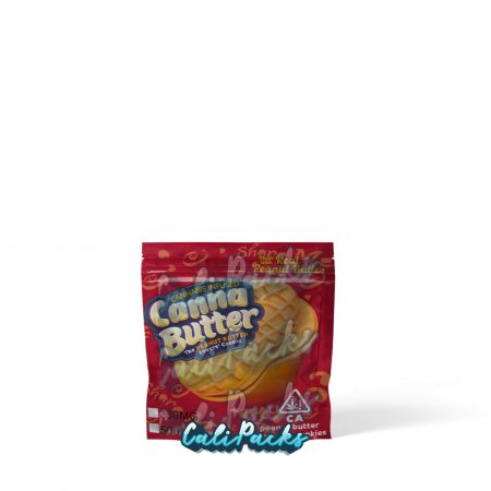 Canna Butter Cannabis Infused Cookie 250mg/500mg Mylar Bag by Calipacks.co.uk