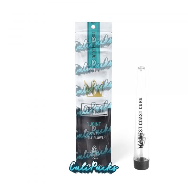 West Coast Cure Foreign Glue 2021 Pre Roll Bag with Joint Holder (10+ Designs) by Calipacks.co.uk