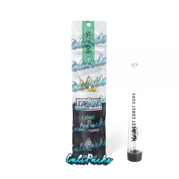 West Coast Cure SFV OG 2021 Pre Roll Bag with Joint Holder (10+ Designs) by Calipacks.co.uk