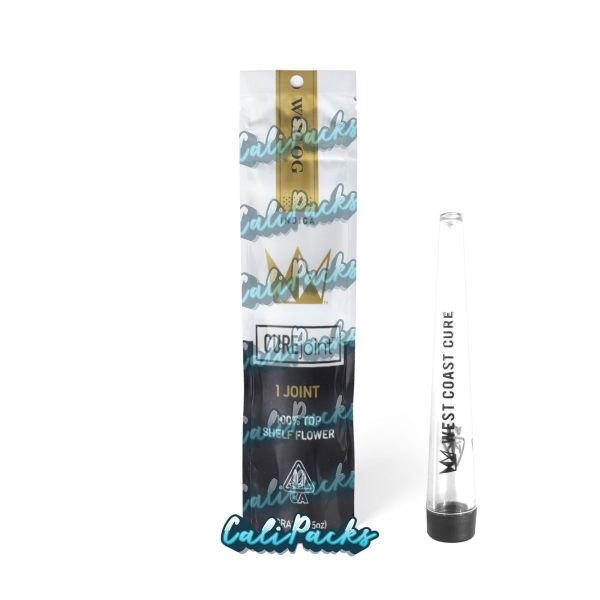 West Coast Cure WCC OG 2021 Pre Roll Bag with Joint Holder (10+ Designs) by Calipacks.co.uk