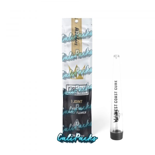 West Coast Cure Wookies 2021 Pre Roll Bag with Joint Holder (10+ Designs) by Calipacks.co.uk