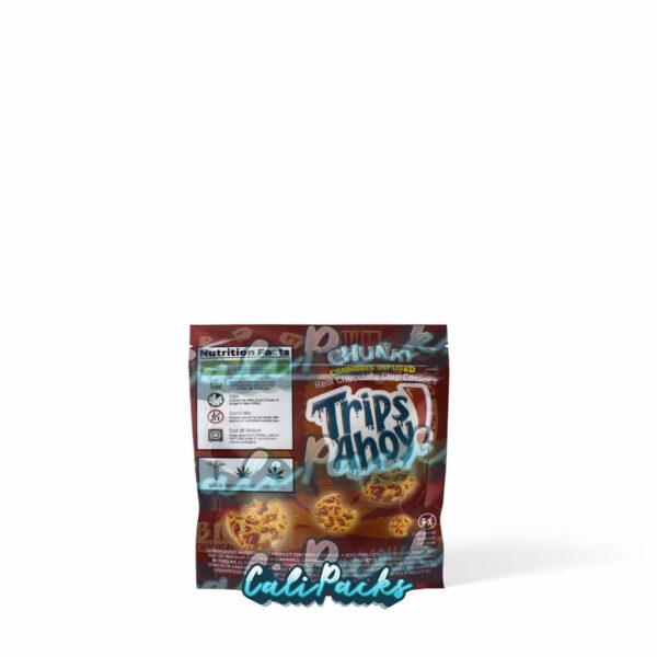 Trips Ahoy Cannabis Infused Cookie Brown 250mg/500mg Mylar Bag by Calipacks.co.uk